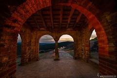 Portico de la Mezquita de Almonaster-la-real-