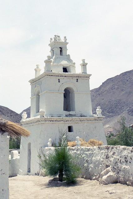 CHILE NORTE-2003 / Interior de Arica / Guañacagua