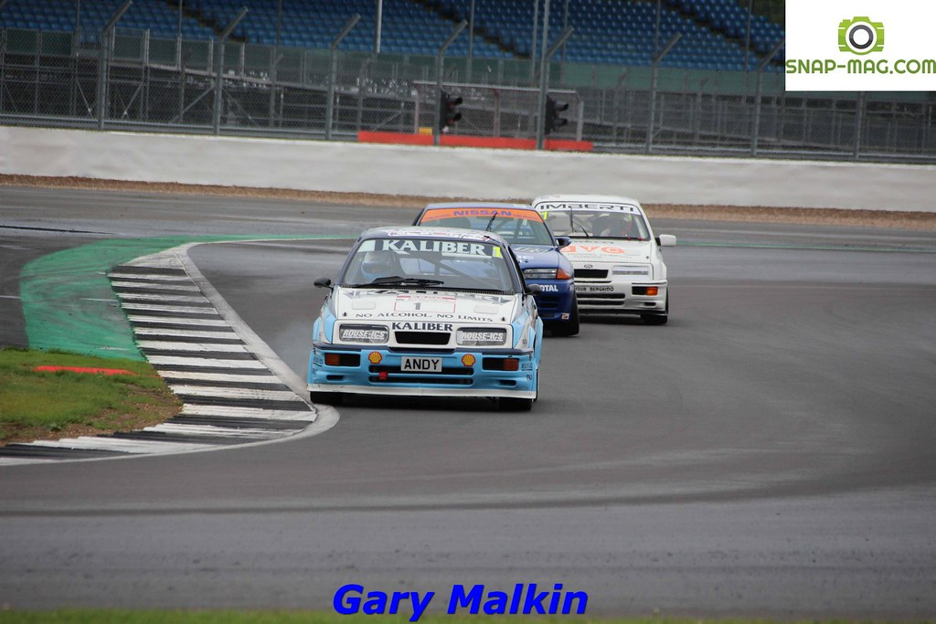 Ford Sierra Cosworth RS500 (Kaliber Rouse) 1989 - Thomas & Lockie (Silv.19ca)