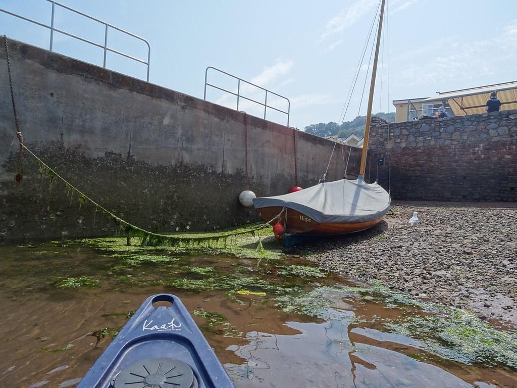 Hope (Shaldon)  Gaff Sloop Dayboat, Designed and built in Govan on the Clyde by Jonny Burke