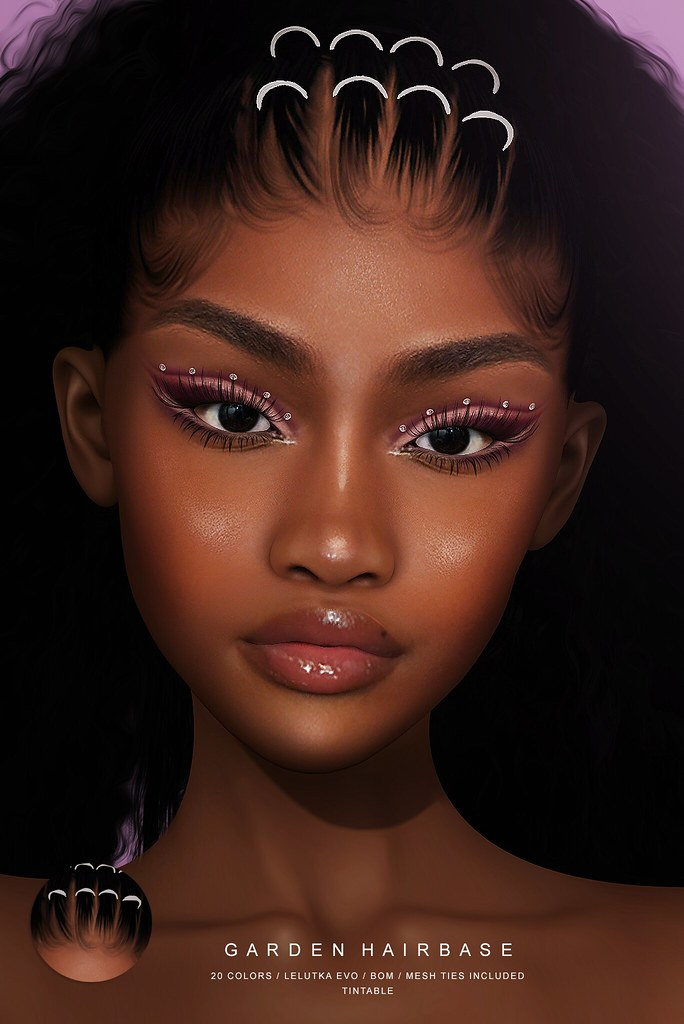 NEW RELEASE + GIVEAWAY GARDEN HAIRBASE @LEVEL EVENT