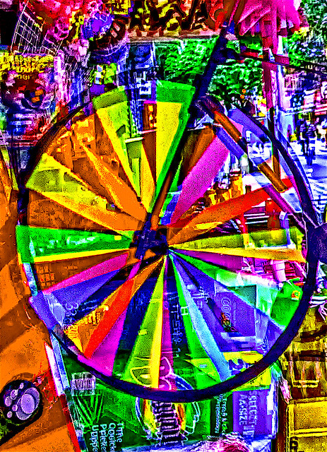 Absstract Effect - multi-exposure in-camera spinning wheel display Photo Effect created by Nolan H. Rhodes