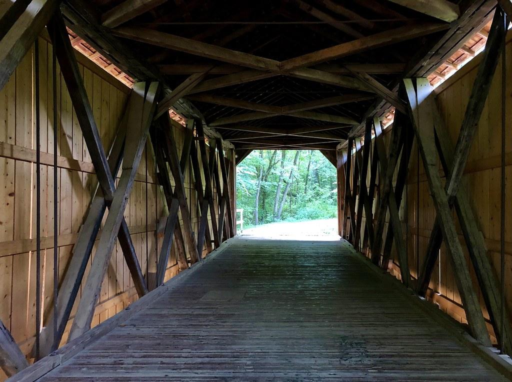 Sandy Creek Historic Covered Bridge…Missouri
