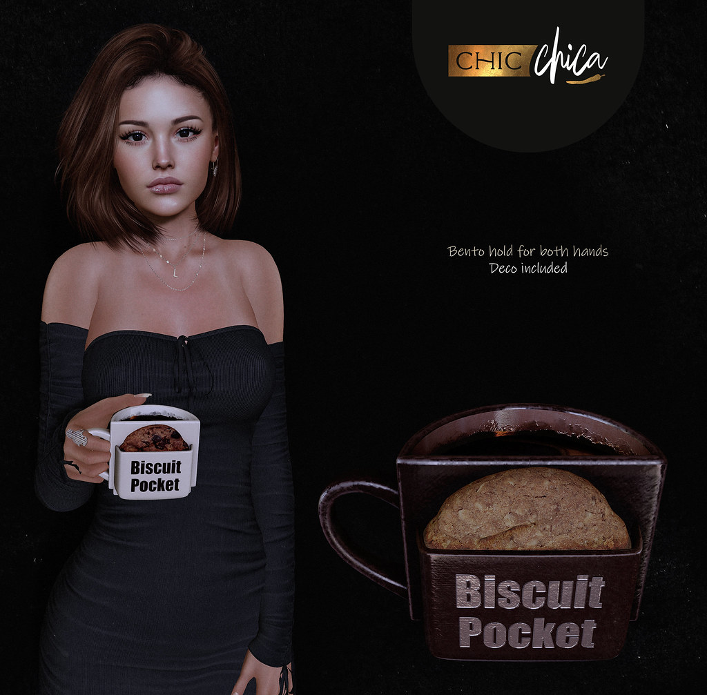 Biscuit pocket coffee by ChicChica @ Anthem