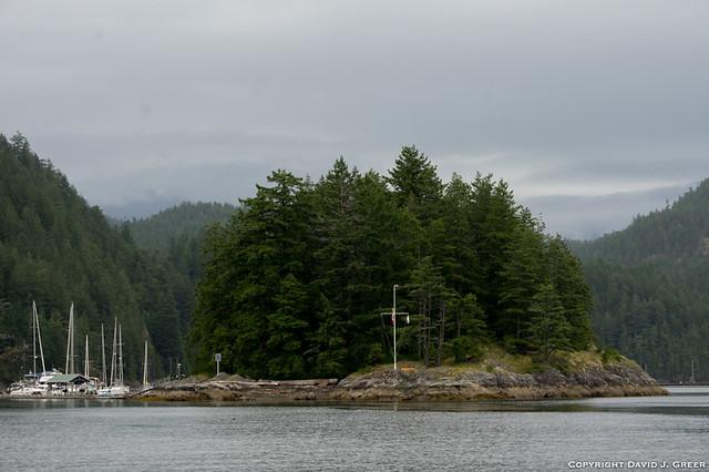 First View of Alexandra Island
