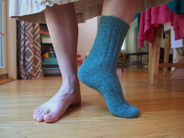 Currently partnerless sock.