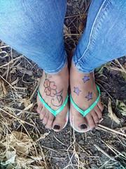 Feet Body art