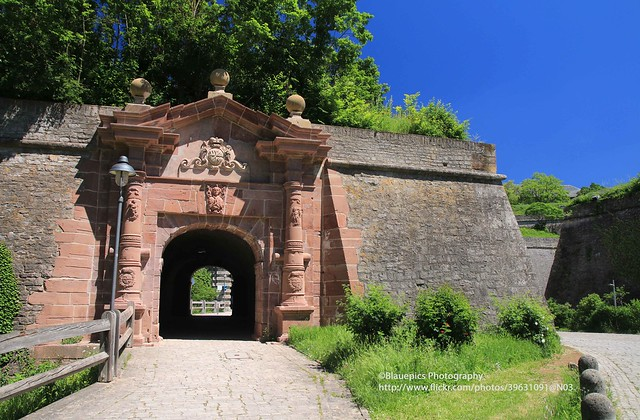 Würzburg, entry to Marienberg fortress
