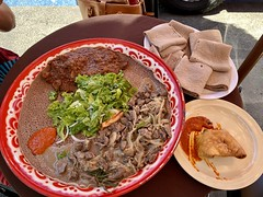 Ethiopian Lunch at The Red Sea