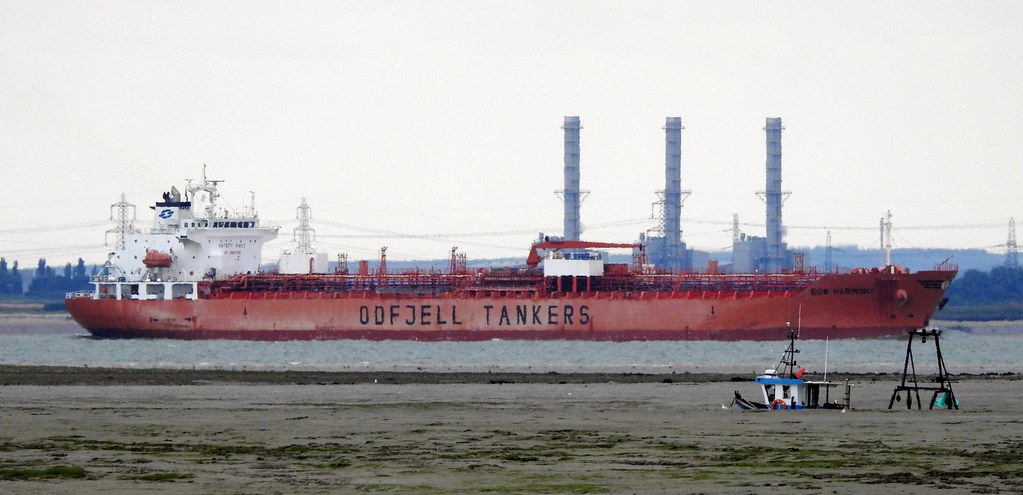 'Bow Harmony' Oil / Chemical Tanker On The Thames