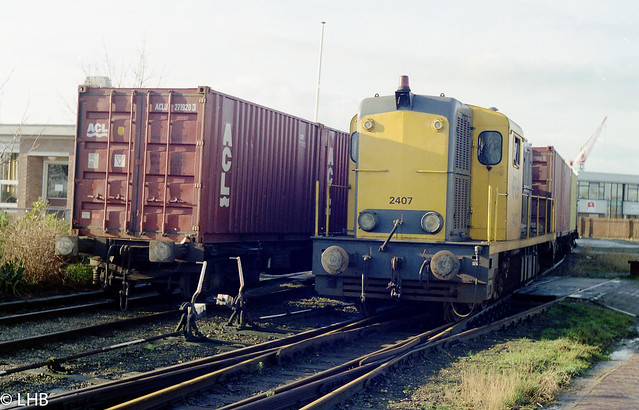 NS 2407 switching in Franeker West
