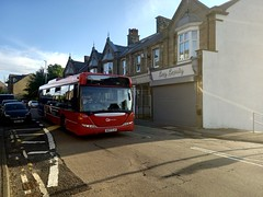 Go North East Scania Omnicity on the 6 to Newcastle