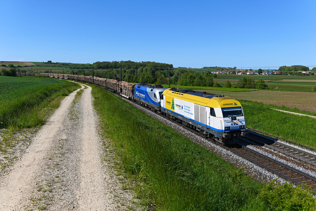 "EVB 223 032 ""Schwaiger Holzindustrie"" Treuchtlingen (8731n)"