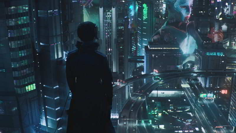 Ghost in the Shell city