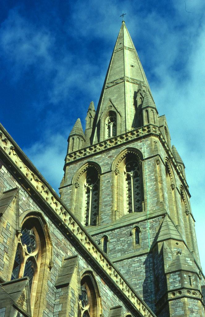 St Michael & All Angels Church Spire, Mount Dinham, Exeter.