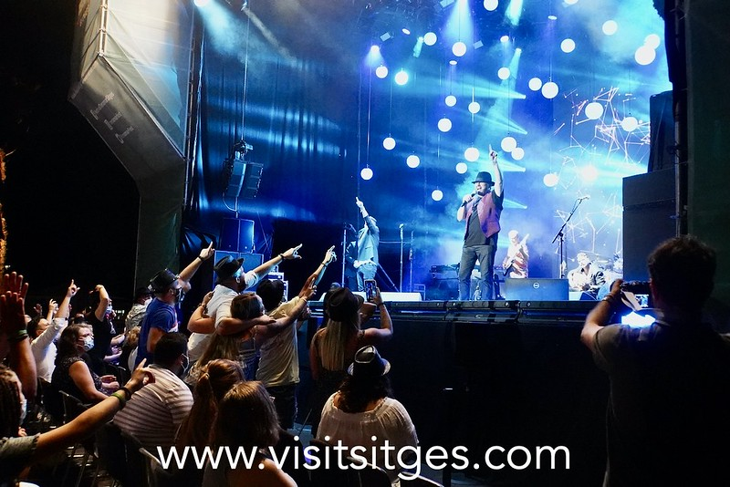 El Barrio conquista el Festival Jardins de Terramar de Sitges con su Rock andaluz