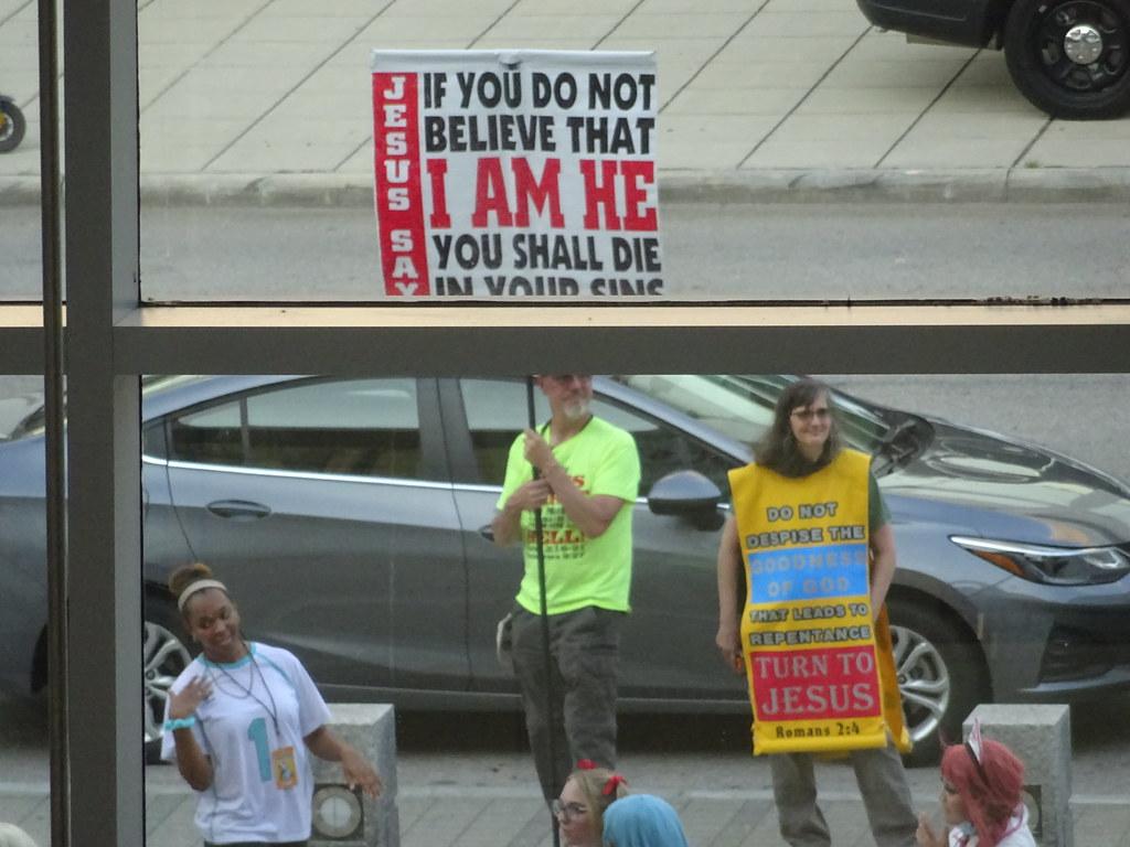 Hey - Crazy Protestors!