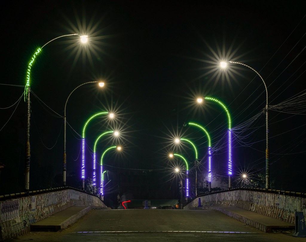 Long exposure night light