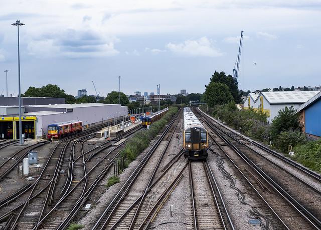 Railway & Wimbledon Traincare Depot
