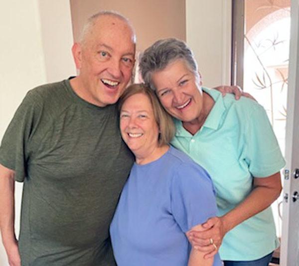 John Kalkowski, Kathy Hunter, Diane Johnson Kalkowski