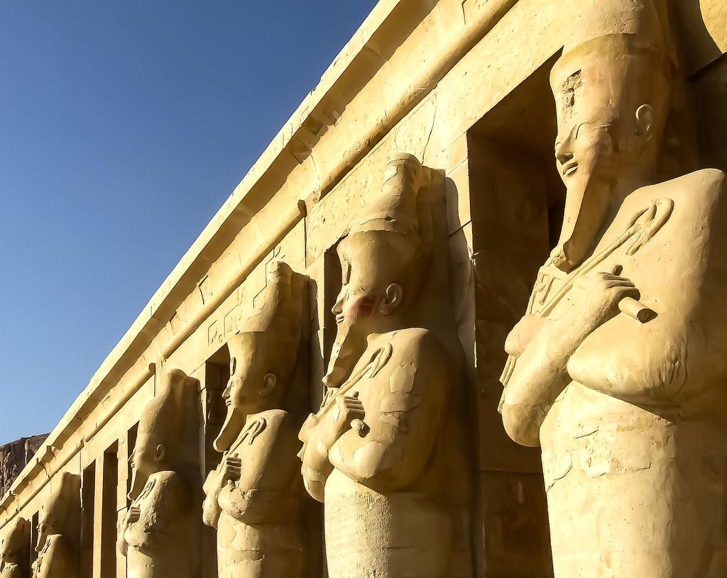Osirian Statues