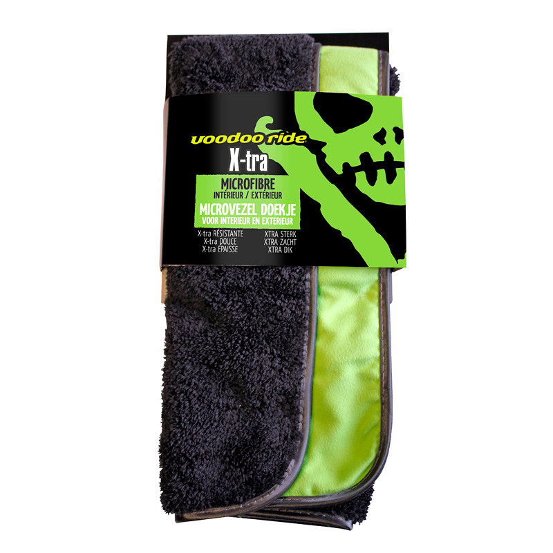 Voodoo Ride Extra Microfiber Cloth 40x45cm - for in- & exterior