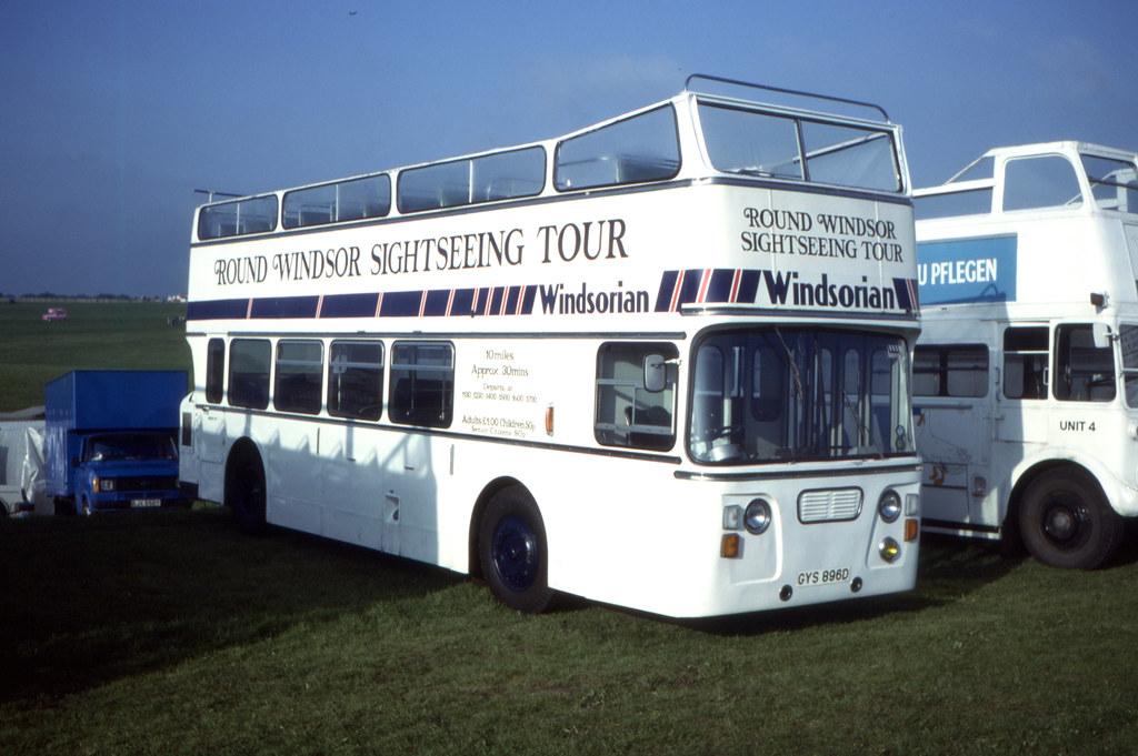 11778T - Windsorian Coaches, Windsor GYS 896D - Epsom Downs (Derby Day) - 6 Jun 1984