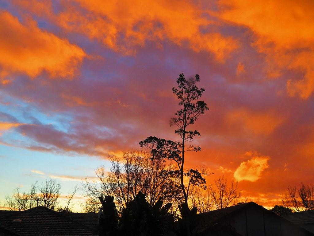 Sunset Sky - Aug 3rd 2021