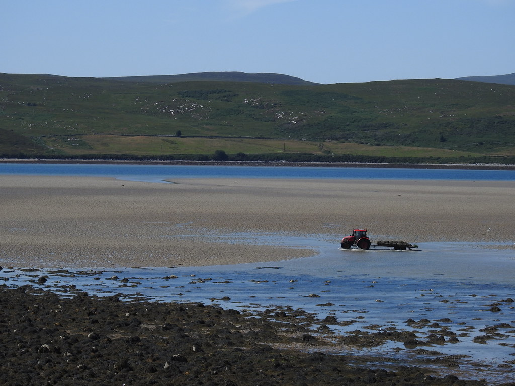 Oyster Beds' Tractor, Kyle of Tongue