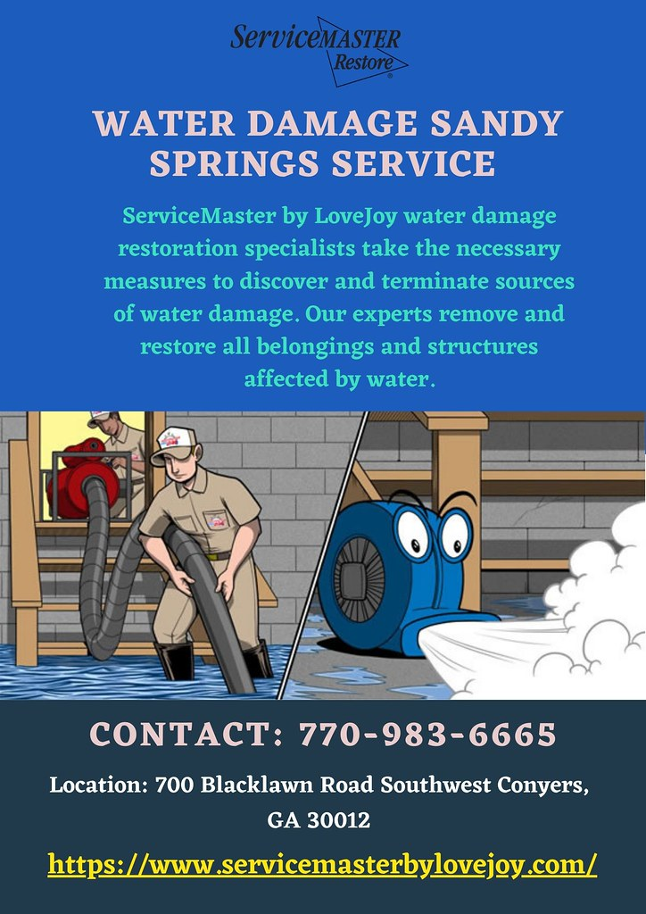 Before the Floor Starts to Sag, Seek Water Damage Sandy Springs Service