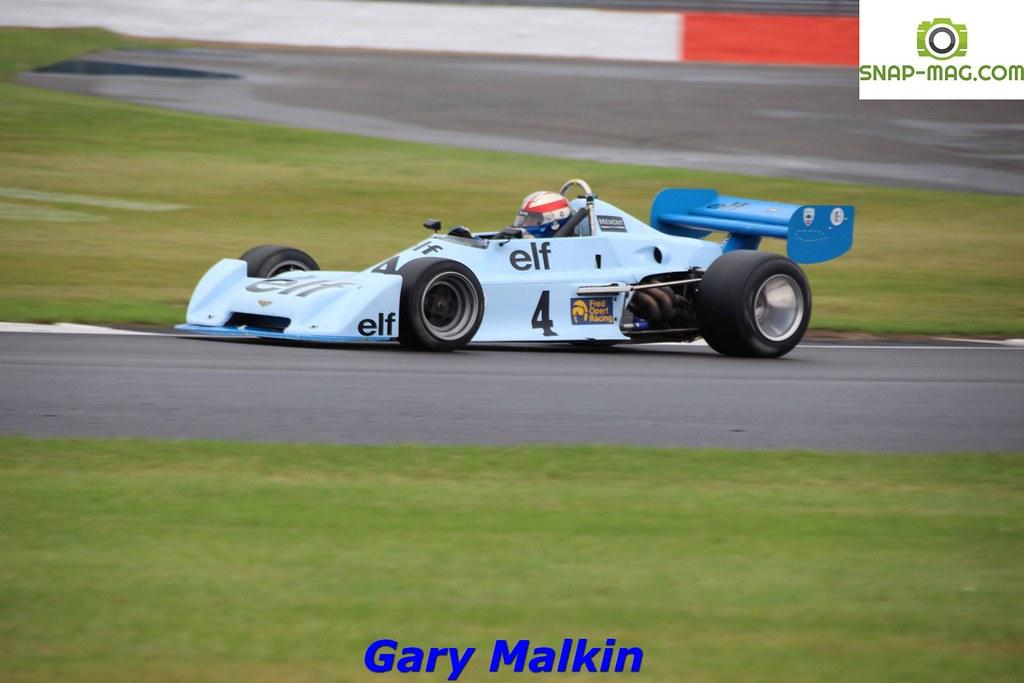 Chevron B40 (Blue) 1977 - O'Connell (Silv.19ca)