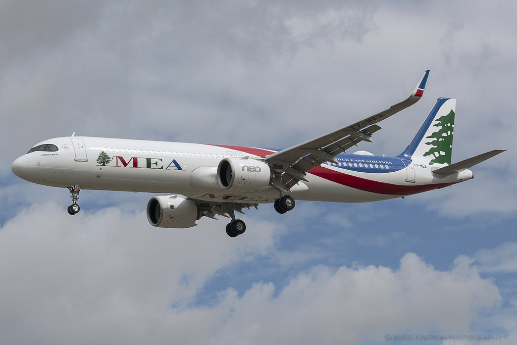 T7-ME2 MEA - Airbus A321-271NX