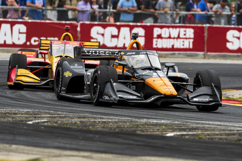 McLaren in the mix, but not up front