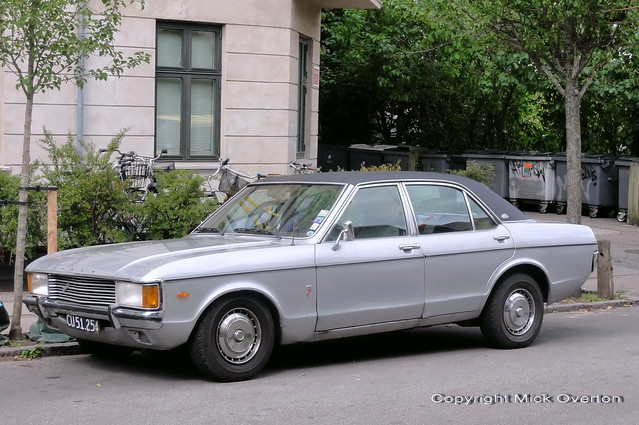 FORD GRANADA 3000 V6 GXL Automatic CU51254 is still on the roads of Denmark