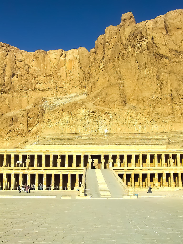 Mortuary Temple of Hatshepsut Ramp and colonnades 2