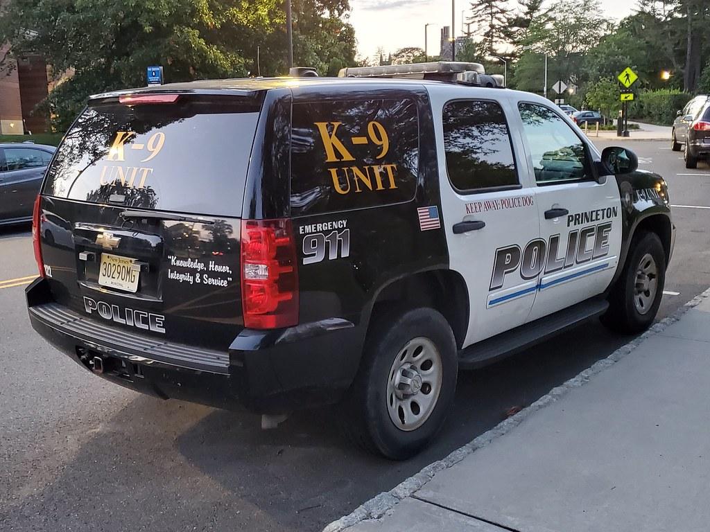 Princeton NJ Police Chevrolet Tahoe K9 Unit
