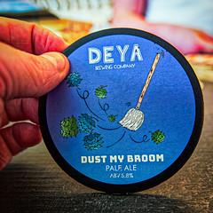 A DEYA Beer Pump Label (2) (The Broken Seal -  Stevenage) Panasonic LX100M2