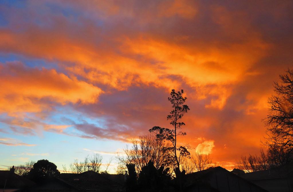 Sunset Sky - Aug 3rd 2021a