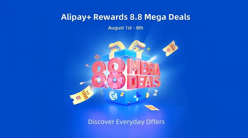 Alipay+ Plus Rewards in GCash Mega 8.8 Sale
