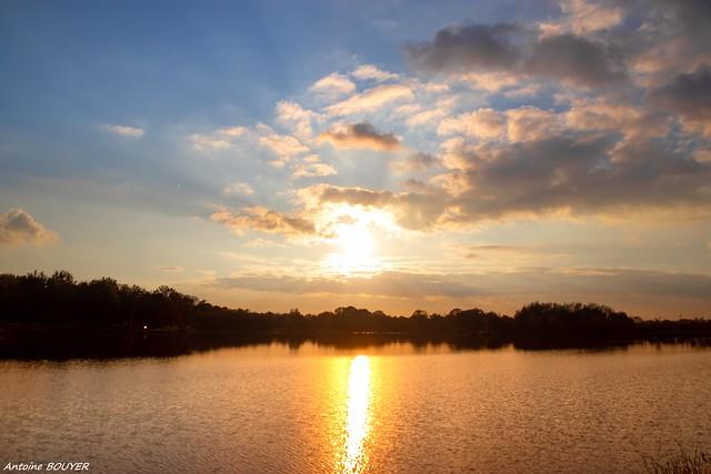 Le soleil va se coucher sur la lac du Grand Fay (44)