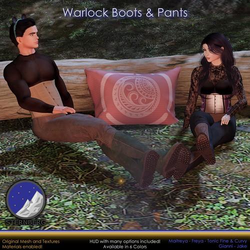 Warlock Pants and Boots