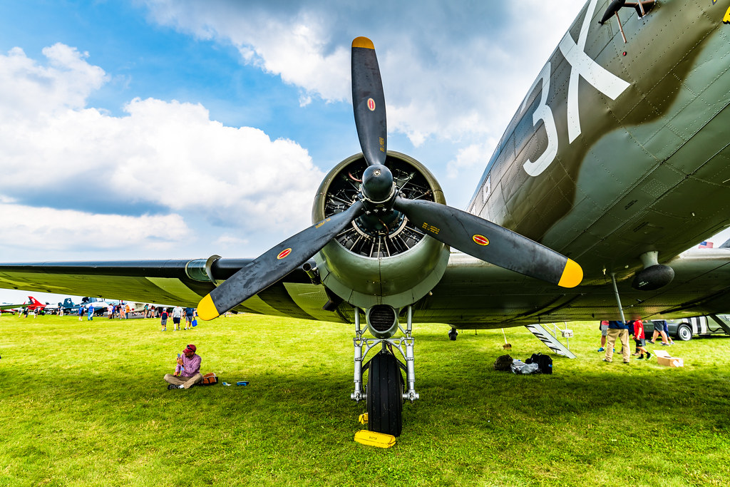 Warbirds at the 2021 EAA AirVenture