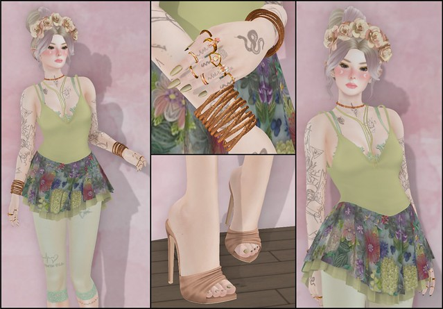 Helli Riddler - SL Syndicate - Moonflower - Collage