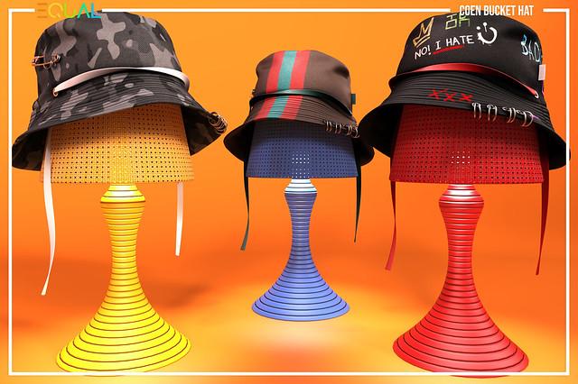 EQUAL - Coen Bucket Hat @ TMD