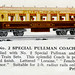 Hornby 0 Gauge No. 2 Special Pullman Coach from the Hornby Book of Trains 1934 - 35