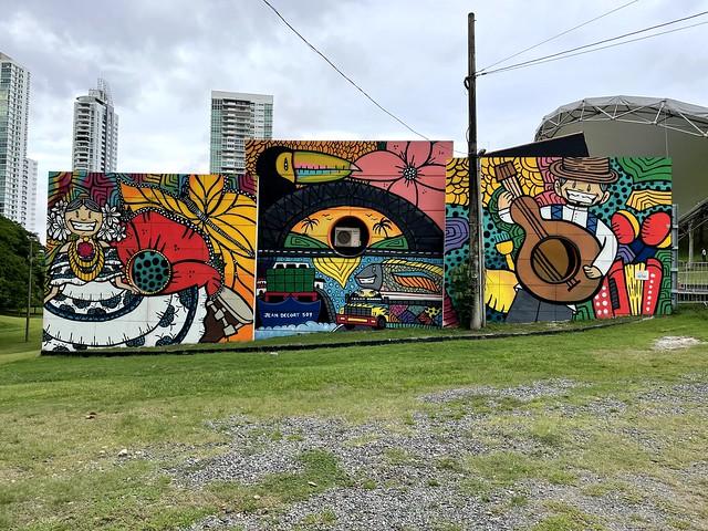Wall-Art, Parque Omar, Panama City