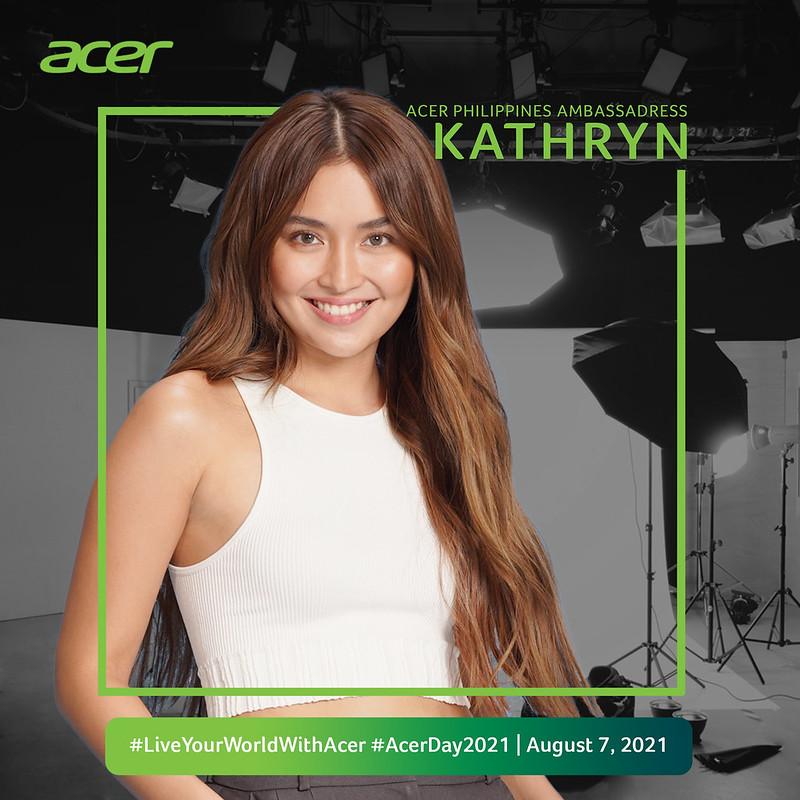 Kathryn Bernardo joins #AcerDay2021