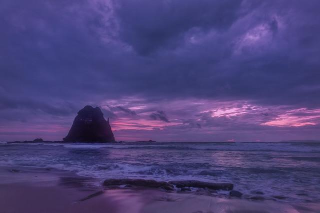 sunrise papuma beach