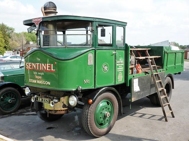 AW3321 Sentinel Steam Waggon