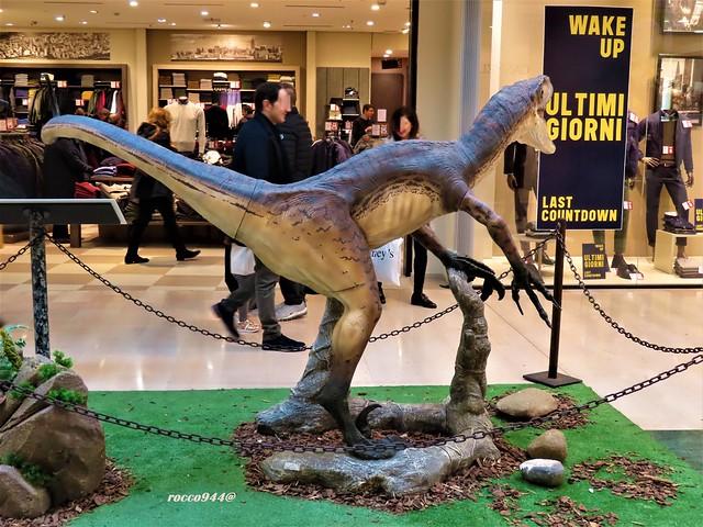 Dinosauri in galleria - Dinosaurs in the gallery